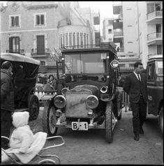 El primer cotxe matriculat a Barcelona - Hispano Suiza.
