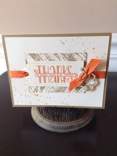 Love this card made with the Banner Blessings stamp set.