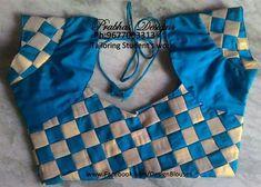 Latest Saree Blouse Back Neck Designs - Kurti Blouse Patch Work Blouse Designs, Simple Blouse Designs, Saree Blouse Neck Designs, Stylish Blouse Design, Designer Blouse Patterns, Lehenga Choli, Silk Sarees, Kurti, Fashion Blouses