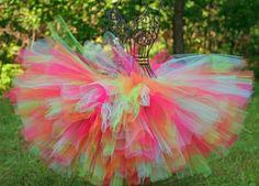 Brights 4T-6 Sewn Tutu Couture Tutus
