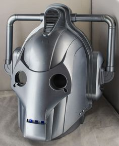 BBC Doctor Who - Cyberman Voice Changer Helmet in Very Good Working Order