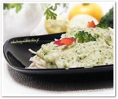makaron z sosem brokułowo-serowym