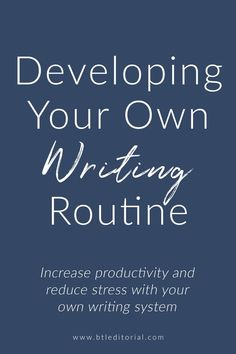 This blog post looks at why developing a writing ritual is so important and provides writers with writing routine ideas to get started.