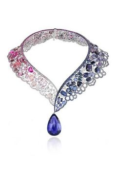Belle (Beauty and the Beast) Necklace by Chopard (available at Harrods) Disney princess inspired jewels.
