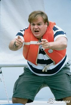 Chris Farley and David Spade in Tommy Boy Chris Farley, Tommy Boy, Music Tv, Great Movies, Funny People, Comedians, Pretty People, I Movie, Hot Dogs