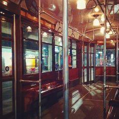 Alla fermata del 33! We'll say we met on a tram! #tram #milano #milan #vintage #belleepoque #1928 #massaronipianoforti #story #milanodavedere #style #state #coolpic #instadaily by frankbertewoods