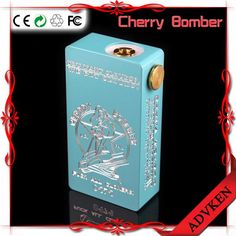 Cherry bomber Box Mod E Cigarettes mods dual 18650 Batteries for 510 atomizer vaporizer for e-cig 6 color in stock #vape #vapor #vapeporn #vapestagram #dripclub #vapelyfe#cloudchasing #calivapers#vapenation #worldwidevapers#vapefam #mods#royalwires#vapelife #vapeon#vapelove #instavape #rda #mechanicalmod #driplife #subohm #modenvy #modmen #vapershouts #improof #vapedaily #handcheck #vapeart #dotmod #scenicvapers #advken #dhgatepin