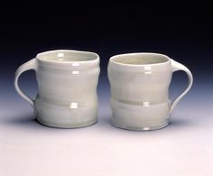 I love these mugs. Sandy is a fantastic australian potter.