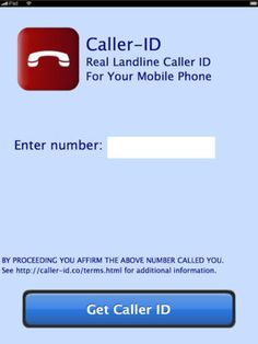 Caller-ID on the App Store