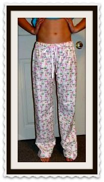 Easy Pajama Pattern. Sew Your Own Pajama Pants.