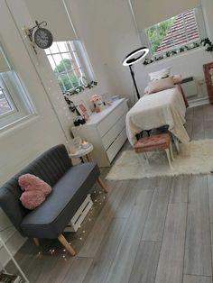 Design Salon, Salon Interior Design, Home Design, Design Ideas, Beauty Salon Design, Design Design, Spa Room Decor, Beauty Room Decor, Massage Room Decor