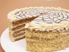 Receptek, és hasznos cikkek oldala: Eszterházy torta