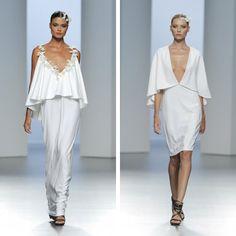Vestidos blancos (para no novias) de Juana Martín ¡Love it! #vestidosdenovia #weddingdress #tendenciasdebodas