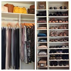 Keeping it Simple   An Organized Closet