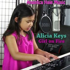 OK guys! Here's my latest cover, Alicia Keys Girl on Fire 😊🎶 This one was the most difficult so far, but I did it!! As always, please go to my FB/YT pages for the full song! Hope you all like it. Let me know what you all think!! Love, Angelica XOXO 💖 #inspiration #singer #piano #cover #talent #music #kids #kidstalent #angelicahalemusic #AliciaKeys #girlonfire