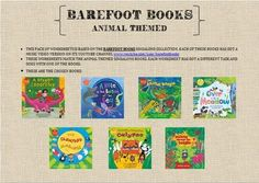 THIS PACK OF WORKSHEETS IS BASED ON THE BAREFOOT BOOKS SINGALONG COLLECTION. EACH OF THESE BOOKS HAS GOT A MUSIC VIDEO VERSION ON ITS YOUTUBE CHANNEL www.youtube.com/user/barefootbooks THESE WORKSHEETS MATCH THE ANIMAL THEMED SINGALONG BOOKS. EACH WORKSHEET HAS GOT A DIFFERENT TASK AND GOES WITH ONE OF THE BOOKS.