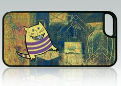Funny Cat iPhone 5 case laughing cat iPhone 5s by HappyStripedCats