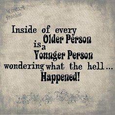 Getting older...