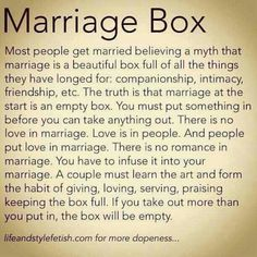 best marriage quote I've read in IDK how long!