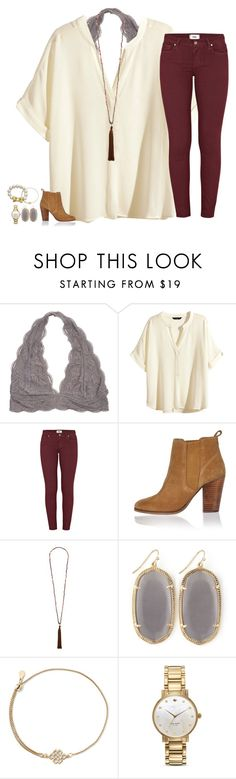 """COMMENT ANY CONTESTS YOU ARE HOSTING RN !! I want to enter !"" by secfashion13 ❤ liked on Polyvore featuring H&M, Paige Denim, River Island, French Connection, Kendra Scott, Alex and Ani and Kate Spade"