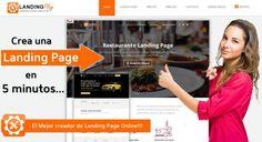 Primero vamos a comprender que es una Landing Page. ¿Que es una Landing Page Digital Marketing, How To Earn Money, Earn Money Online, Create, Lets Go