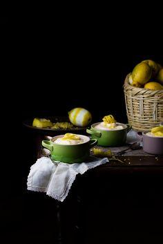 Lemon mousse, recipe by Raquel Carmona
