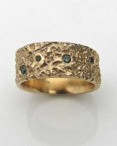 ATLANTIS green/blue diamonds
