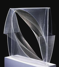 Another piece from Naum Gabo, this Linear construction demonstrates good use of interlocking forms.
