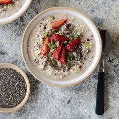 Come Spring and summer time, I LOVE having bircher muesli for breakfast. Bircher muesli is a soaked muesli which is usually left overnight to soften, however you can make an instant version (like this one) if you use fine rolled … Continued Breakfast Time, Breakfast Recipes, Breakfast Ideas, Overnight Breakfast, Raw Food Recipes, Cooking Recipes, Healthy Recipes, Free Recipes, Salad Recipes
