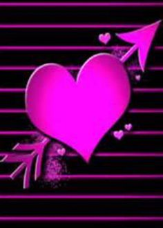 By Artist Unknown. Pink Wallpaper Heart, Love Wallpaper Backgrounds, Hello Kitty Backgrounds, Bling Wallpaper, Flower Phone Wallpaper, More Wallpaper, Cellphone Wallpaper, Pretty Wallpapers, Wallpaper Ideas