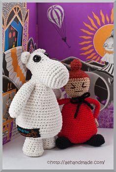 Mumin & Lilla My Dinosaur Stuffed Animal, Crochet, Animals, Threading, Decorations, Animales, Animaux, Crochet Crop Top, Chrochet