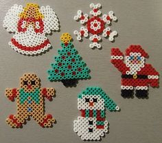 Mobile de Noël en perles à repasser
