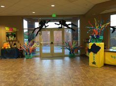 Submerged 2016 VBS Submerged Vbs, Vbs 2016, Vacation Bible School, Under The Sea, Sunday School, Ocean, Stage Props, Crafts, Theatre