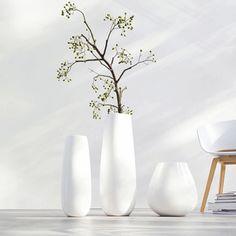 Vase XL en céramique blanc EASEXL Asa Selection