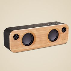 House of Marley Get Together Mini Wireless Portable Bluetooth Audio Speaker, Signature Black Mini Bluetooth Speaker, Diy Speakers, Portable Speakers, Passive Radiator, Cool Tech, Electronics Gadgets, Audio System, Computer Accessories, Interior Accessories