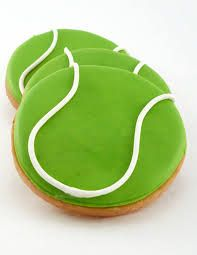 One dozen tennisball cookies ~ 3 round ********** Current lead time: business days + days for shipping via USPS. ABOUT OUR COOKIES: All Tennis Cake, Tennis Party, Bar Mitzvah Party, Bat Mitzvah, Iced Cookies, Cupcake Cookies, Cupcakes, Madeline Cake, Sport Cakes