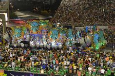 Carnival in Rio de Janeiro is the exception to any reality you have known before. Preparations start as soon as the last carnival is over. While the big Samba schools create new themes, costumes, s… Samba, Rio Carnival, Big Show, New Theme, Schools, Brazil, Costumes, Explore, Create