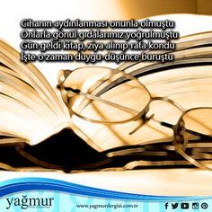 Cihanın aydınlanması onunla olmuştu… www.yagmurdergisi.com.tr #yagmurdergisi #cihan #dergi