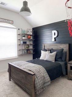 Big Boy Bedrooms, Boys Bedroom Decor, Home Bedroom, Bedroom Ideas, Boys Bed Room Ideas, Teenage Boy Rooms, Kids Bedroom Boys, Girl Rooms, Kids Room
