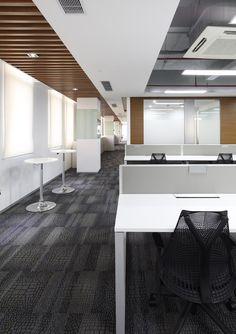 HPI / Harry and Partners Inc. / Unilever - Shanghai LK3 office design / Interior design / Office