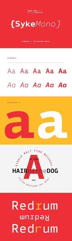 Syke Mono. Best Fonts