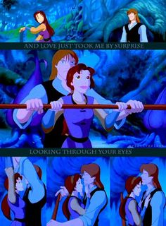 Quest for Camelot. One of my all-time favorite movies and by far my favorite animated movie of all time.
