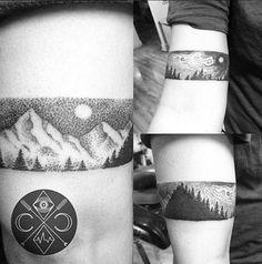 arm band tattoo