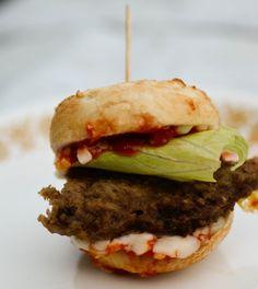 Bagel Pizza Sliders -  bakingbeauty
