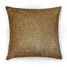 Gold Glitter Christmas cushion