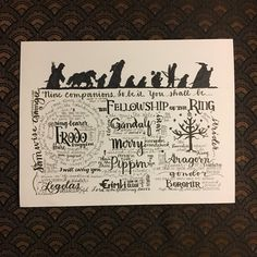 Lord Of The Rings Ring Quote The Lion The Witch And The Wardrobe  Quote Print  Narnia  Wall .