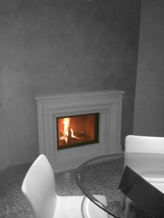 #Caminetto bolection Bolection #fireplace #Ruegg www.zordancaminetti.it