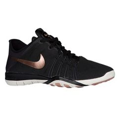 Nike Free TR 6 - Women's - Training - Shoes - Black/Rose Gold/White