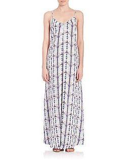 Tart Florence Maxi Dress - Grey Color - Size