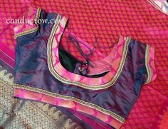 Blouse design For Kanchipuram Silk Saree | Diwali Shopping